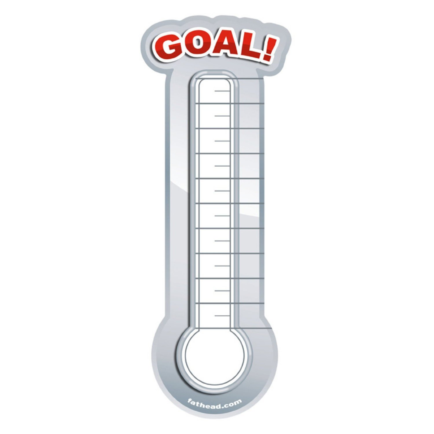 Fundraising thermometer template playbestonlinegames for Free fundraiser thermometer template